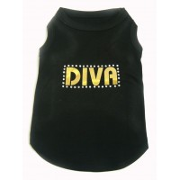 Diva in Lights Dog T-Shirt